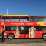 City Sightseeing Beirut's bright red buses have officially starting touring the capital.