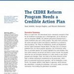 Sami Atallah, Georgia Dagher, and Mounir Mahmalat .The CEDRE Reform Program Needs a Credible Action Plan